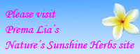 Link to Prema Lia's Nature's Sunshine Herbs page