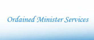 ordained minister services